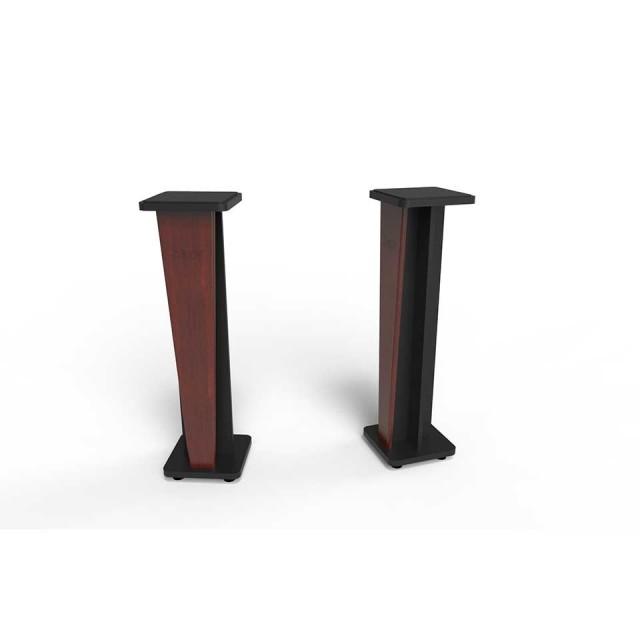 Zaor Studio Furniture/Croce Stand 42 (pair) Mahogany/Black【受発注品】