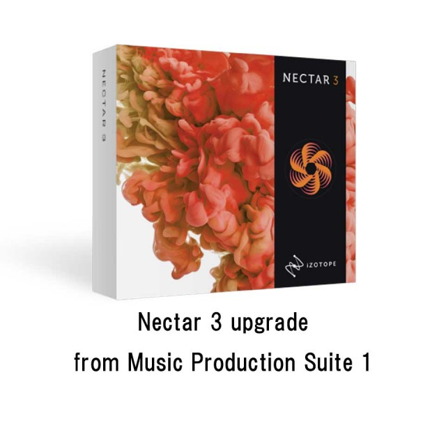 iZotope/Nectar 3 upgrade from Music Production Suite 1【オンライン納品】