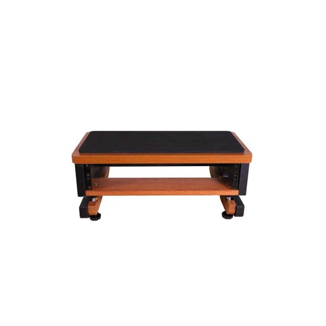 Zaor Studio Furniture/MIZA Studio rack 2U  Black/Cherry