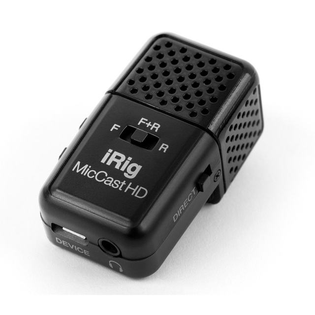 IK Multimedia/iRig Mic Cast HD【在宅おすすめアイテム】