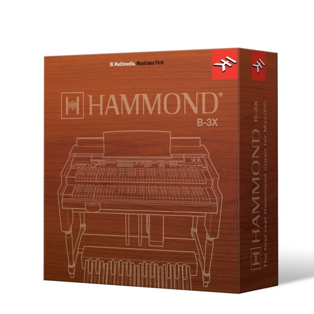 IK Multimedia/Hammond B-3X パッケージ版