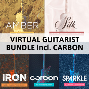 UJAM/VIRTUAL GUITARIST BUNDLE incl. CARBON【オンライン納品】【在庫あり】