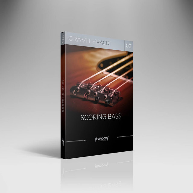HEAVYOCITY/GRAVITY PACK 06 - SCORING BASS【オンライン納品】【在庫あり】