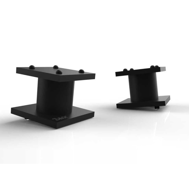 Zaor Studio Furniture/MIZA D-Stand MKII (pair) Black【お取り寄せ商品】