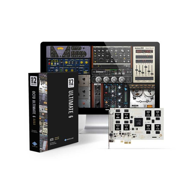 UNIVERSAL AUDIO/UAD-2 OCTO ULTIMATE 6