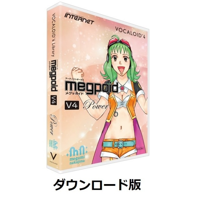 INTERNET/VOCALOID4 Library Megpoid V4 Power【ダウンロード版】【オンライン納品】【在庫あり】