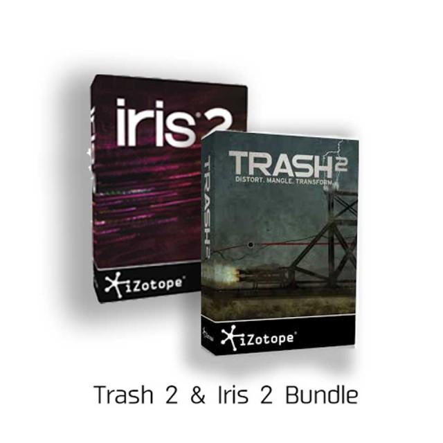 iZotope/Trash 2 & Iris 2 Bundle【数量限定特価キャンペーン】【オンライン納品】【在庫あり】