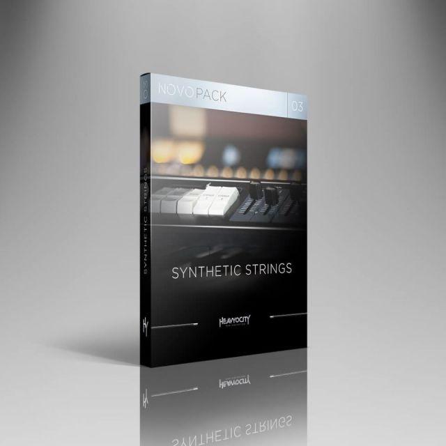HEAVYOCITY/NOVO PACK 03 - SYNTHETIC STRINGS【オンライン納品】【在庫あり】