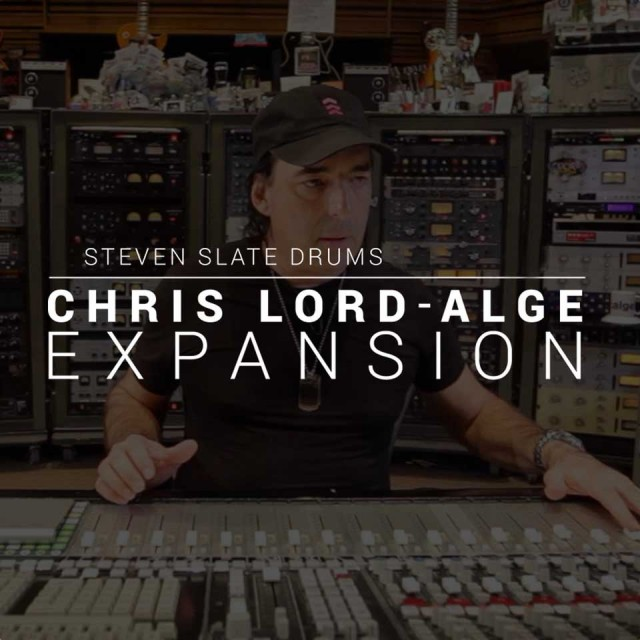 Steven Slate Drums/Chris Lord-Alge EXPANSION【オンライン納品】【SSD拡張】【在庫あり】