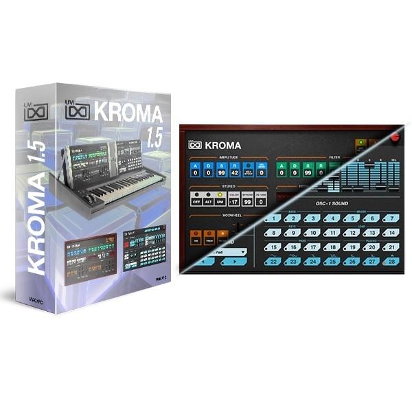 UVI/Kroma 1.5【~12/3 期間限定特価キャンペーン】【オンライン納品】