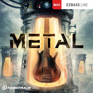 TOONTRACK/EBX - METAL【オンライン納品】【在庫あり】