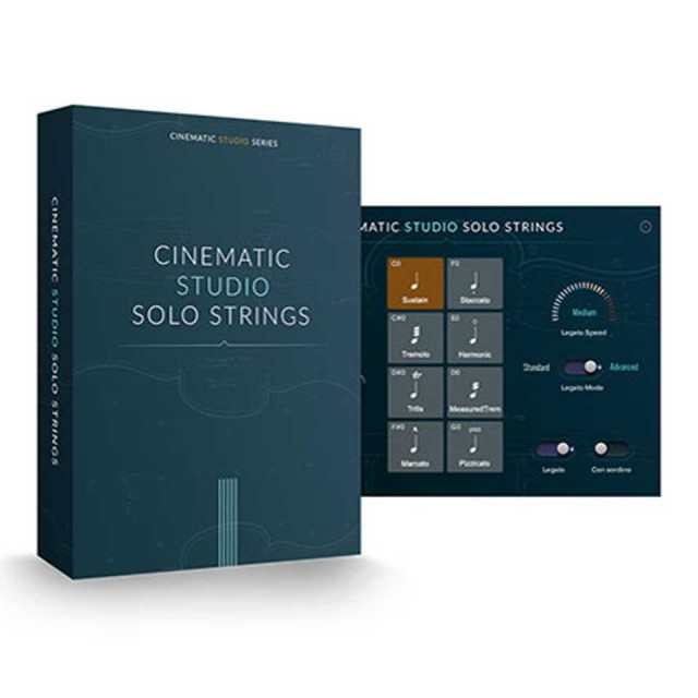 CINEMATIC STRINGS/CINEMATIC STUDIO SOLO STRINGS【オンライン納品】【在庫あり】