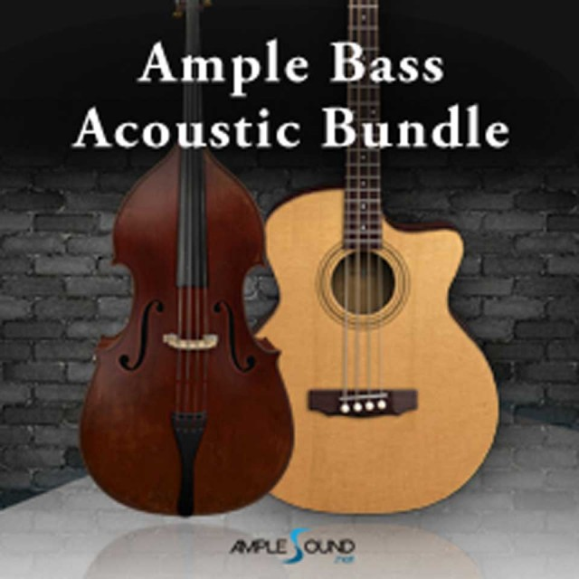 AMPLE SOUND/AMPLE BASS ACOUSTIC 2 IN 1 BUNDLE【オンライン納品】【在庫あり】