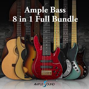AMPLE SOUND/AMPLE BASS 6 IN 1 BUNDLE【オンライン納品】【在庫あり】