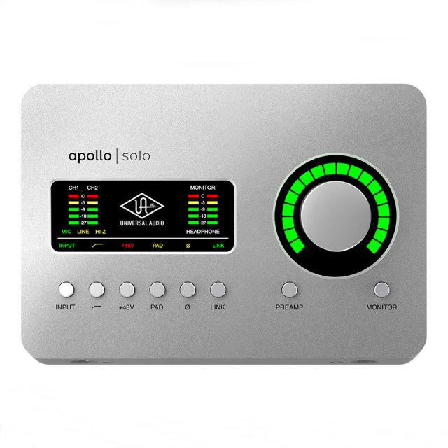 UNIVERSAL AUDIO/Apollo Solo Heritage Edition【~6/30 期間限定UADプラグインプレゼントキャンペーン】