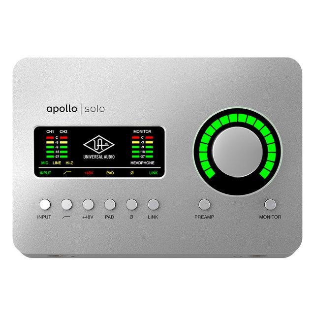 UNIVERSAL AUDIO/Apollo Solo USB Heritage Edition