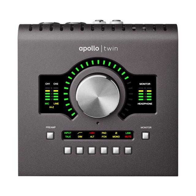 UNIVERSAL AUDIO/Apollo Twin MkII Duo Heritage Edition【~6/30 期間限定UADプラグインプレゼントキャンペーン】