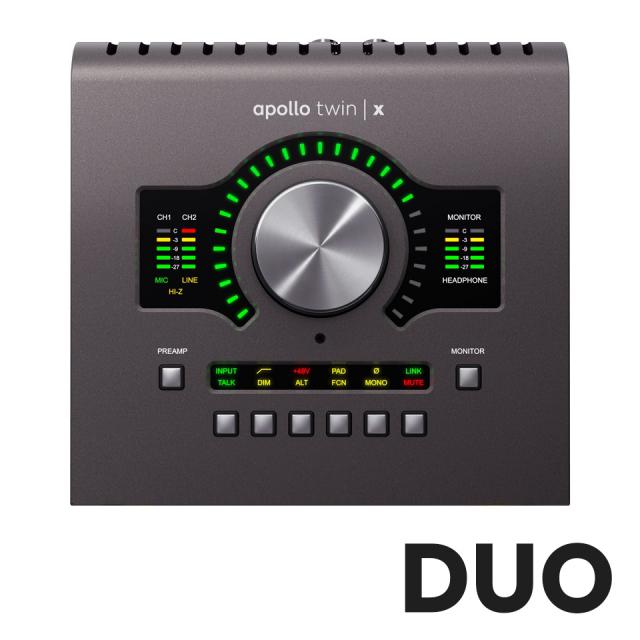 UNIVERSAL AUDIO/Apollo Twin X Duo Heritage Edition【在庫あり】【~6/30 期間限定UADプラグインプレゼントキャンペーン】