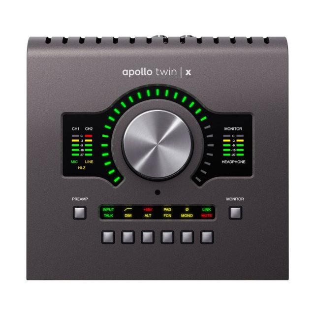 UNIVERSAL AUDIO/Apollo Twin X Quad Heritage Edition【~6/30 期間限定UADプラグインプレゼントキャンペーン】【在庫あり】