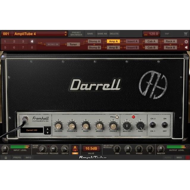 IK Multimedia/AmpliTube Dimebag Darrell CFH Collection【オンライン納品】