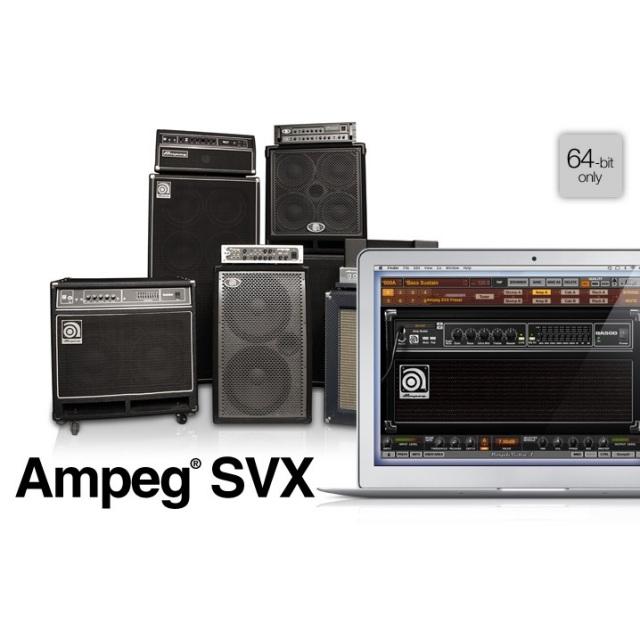 IK Multimedia/Amplitube SVX【オンライン納品】