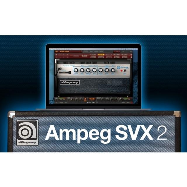 IK Multimedia/Amplitube SVX 2【オンライン納品】