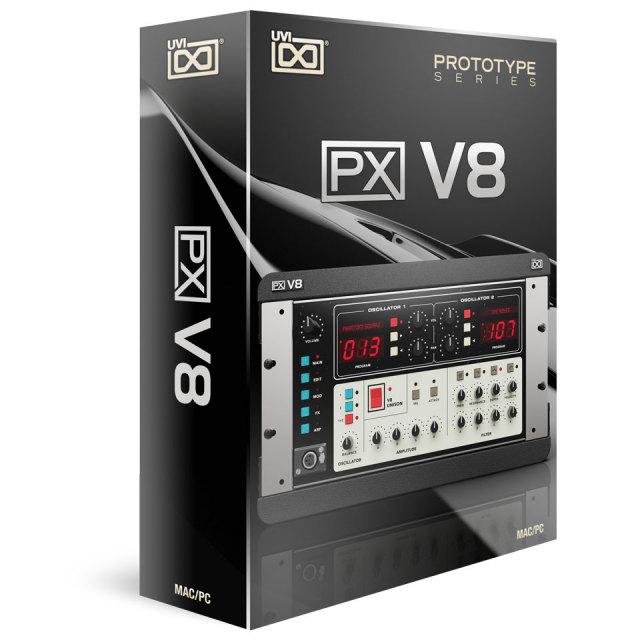 UVI/PX V8【オンライン納品】