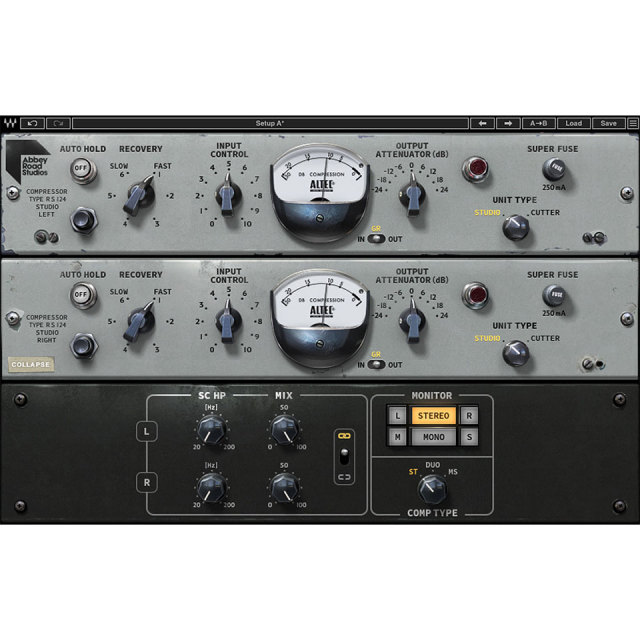 Waves/Abbey Road RS124 Compressor【オンライン納品】
