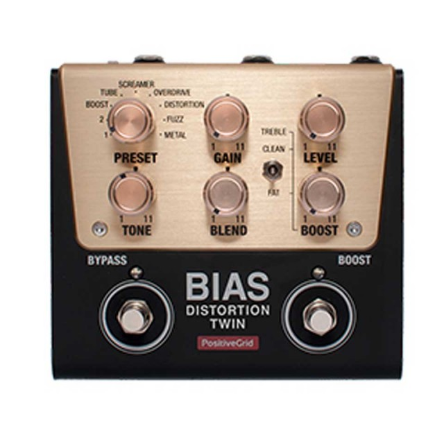 Positive Grid/BIAS Distortion Twin