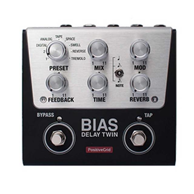 Positive Grid/BIAS Delay Twin【数量限定 BIAS TWINシリーズ 20%オフ プロモーション】