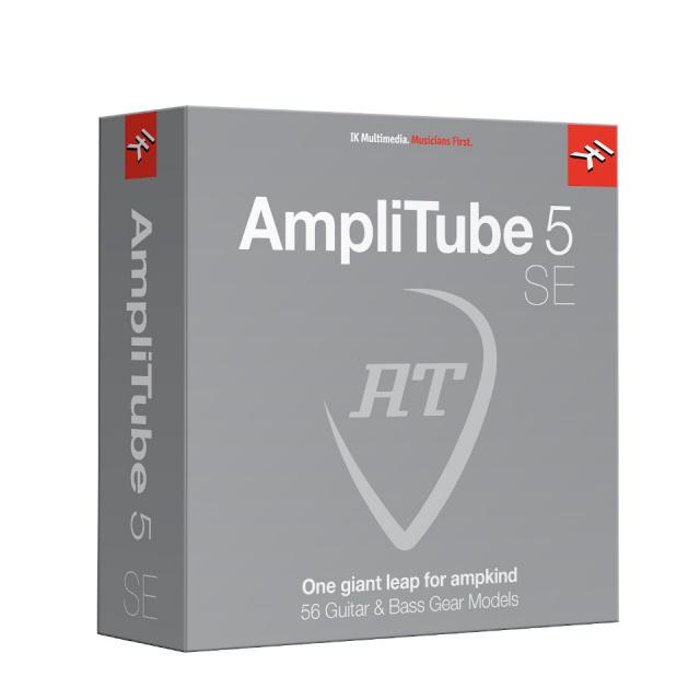 IK Multimedia/AmpliTube 5 SE ダウンロード版【期間限定特価キャンペーン】【オンライン納品】