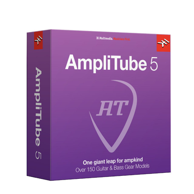 IK Multimedia/AmpliTube 5 ダウンロード版【期間限定特価キャンペーン】【オンライン納品】