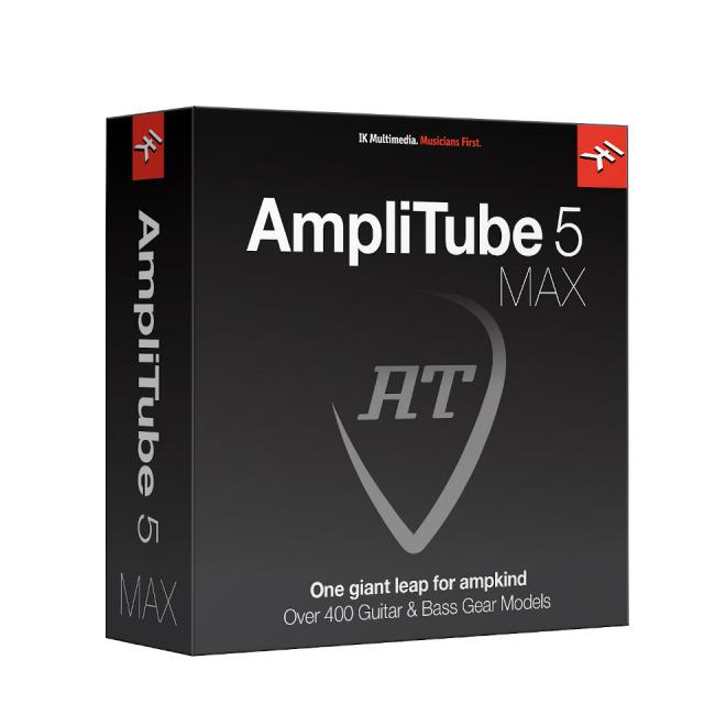 IK Multimedia/AmpliTube 5 MAX ダウンロード版【期間限定特価キャンペーン】【オンライン納品】