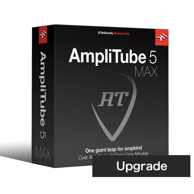 IK Multimedia/AmpliTube 5 MAX Crossgrade ダウンロード版【期間限定特価キャンペーン】【オンライン納品】