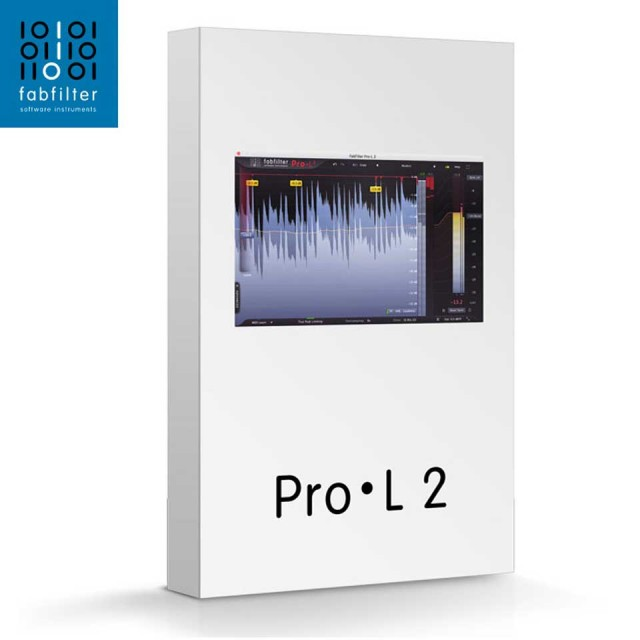 FabFilter/FabFilter Pro-L2【オンライン納品】【~11/29期間限定特価キャンペーン】