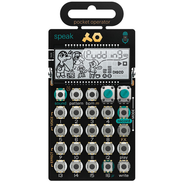 Teenage Engineering/PO-35 speak【在庫あり】