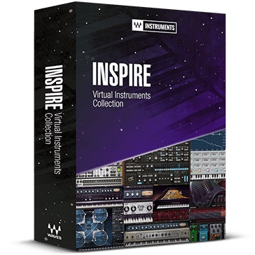 Waves/Inspire Virtual Instruments Collection【オンライン納品】