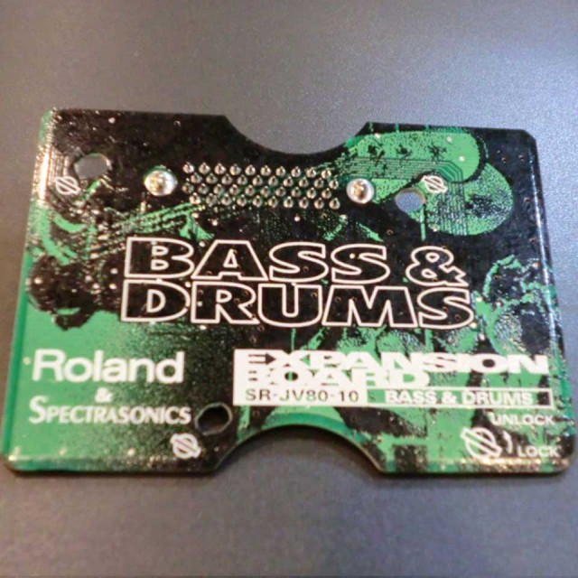 Roland/SR-JV80-10【BASS&DRUMS】【中古】【在庫あり】