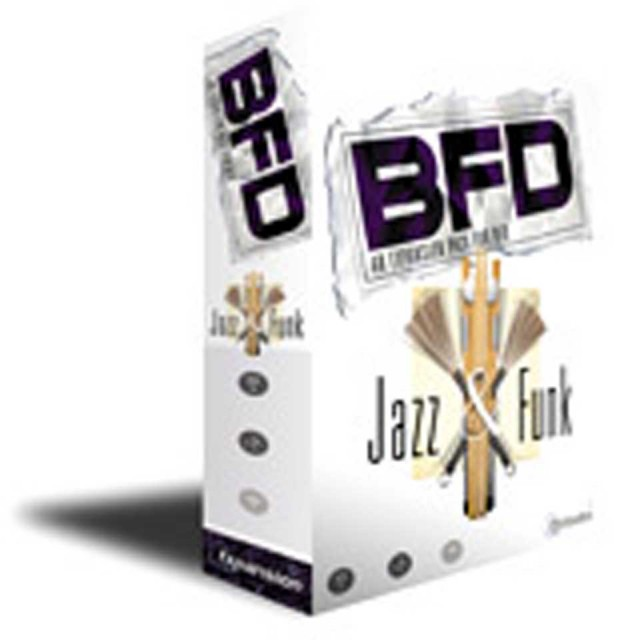 Fxpansion/Jazz & Funk 【オンライン納品】【BFD拡張】