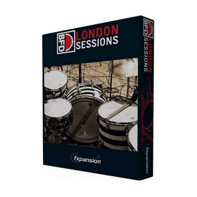 FXPansion/BFD3/2Expansion Pack: London Sessions【オンライン納品】【BFD拡張】
