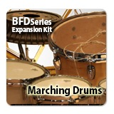 FXPansion/Marching Drums 【オンライン納品】【BFD拡張】