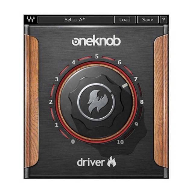 Waves/OneKnob Driver【期間限定キャンペーン】【オンライン納品】【在庫あり】