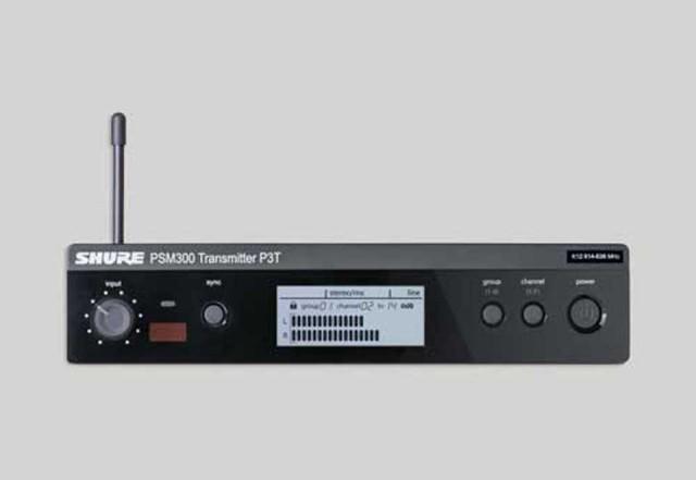 SHURE/P3T【PSM300対応 ワイヤレスモニターシステム送信機】