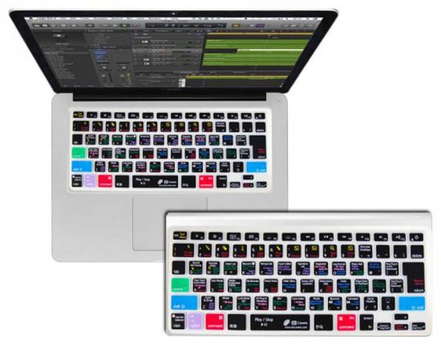 KB Covers/ for Logic Pro X 【MacBook / MacBook Pro / MacBook Air対応】【LOGX-M-JIS-CC】【JIS配列】