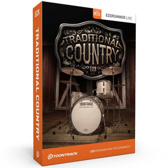 TOONTRACK/EZX TRADITIONAL COUNTRY