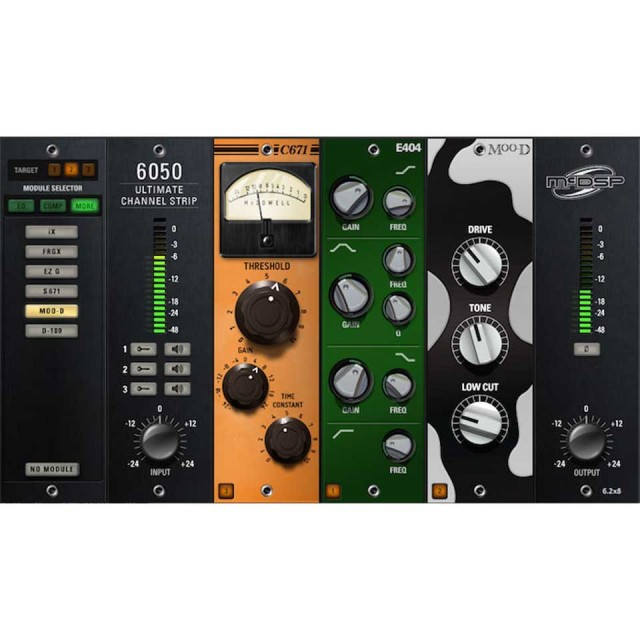 McDSP/6050 Ultimate Channel Strip Native v6【オンライン納品】