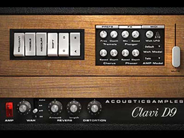 acoustic samples/Clavi D9【オンライン納品】【FOMIS】