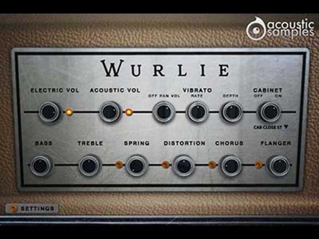 acoustic samples/Wurlie【オンライン納品】【FOMIS】