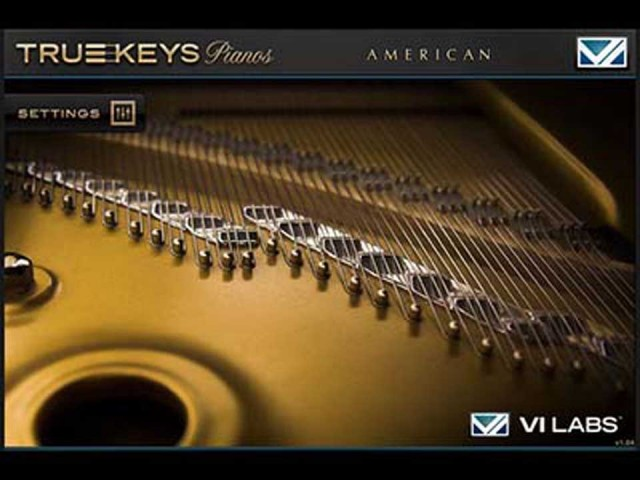 VI Labs/True Keys : American Grand【オンライン納品】【FOMIS】