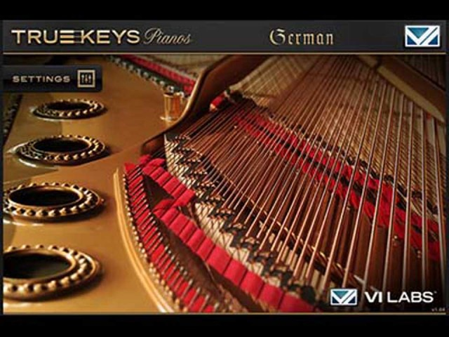 VI Labs/True Keys : German Grand【オンライン納品】【FOMIS】